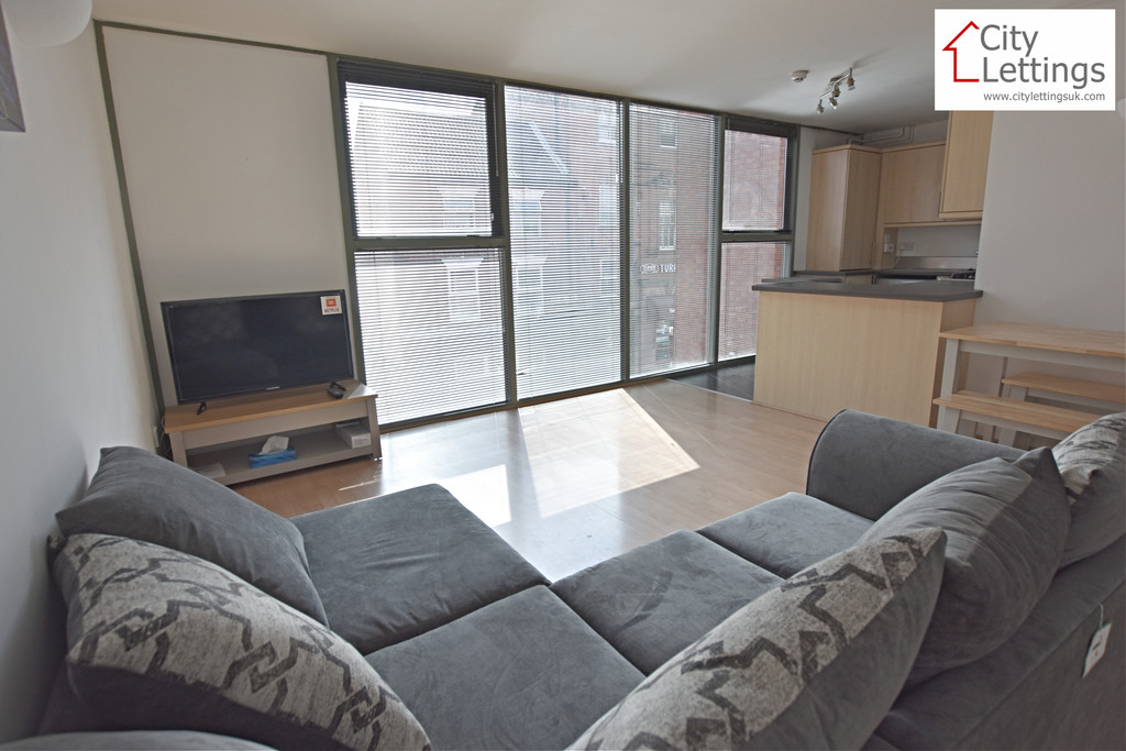 A modern 2 double bedroom apartment